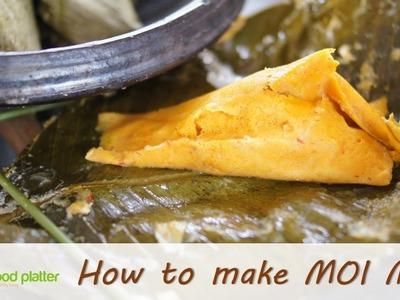 How to make Moi Moi (in leaves) - 1QFoodplatter