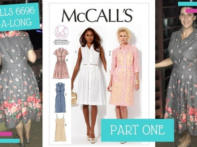 How To :: McCalls 6696 Sew-A-Long :: The Bodice Beginnings :: Part 1