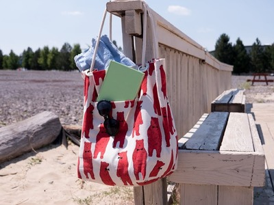 How to Sew a Beach Bag