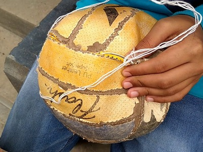 How to stitching volleyball easy. .