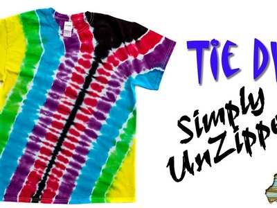 How to Tie Dye:  Simply Unzipped