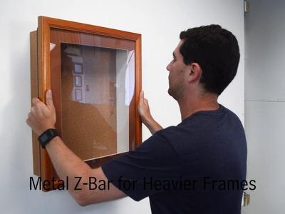 How to Wall Mount SwingFrames Demo