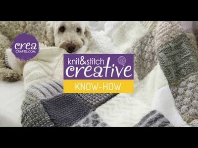Know How: Knit two stitches together by CREACRAFTS