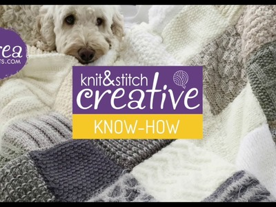 Learn how to: Knit Stitch by CREACRAFTS