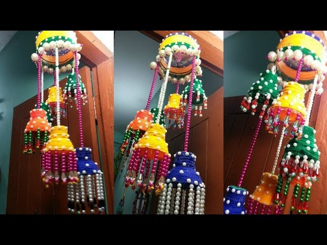 NEW Stylish DIY Wind Chime || How To Make Wind Chime With Beads ||  Beaded Door.Wall Hanging