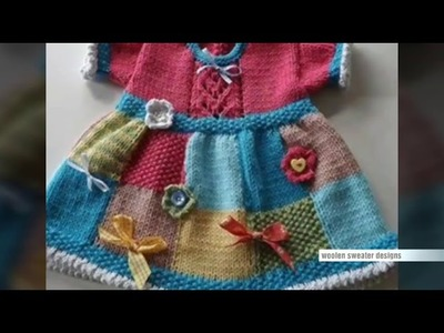 New sweater design for kids or baby in hindi - knitting design pattern