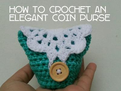 Part 1 | How to Crochet an Elegant Coin Purse