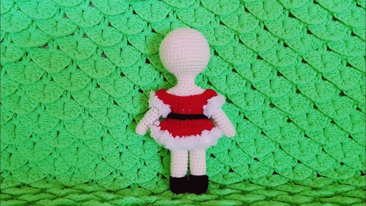PART 1: HOW TO DRESS UP AMIGURUMI FOR GIRLS? CHRISTMAS EDITION
