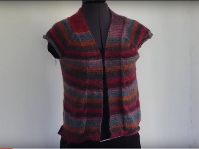 Part 6  Knitting Tutorial for the Harvest Cardigan