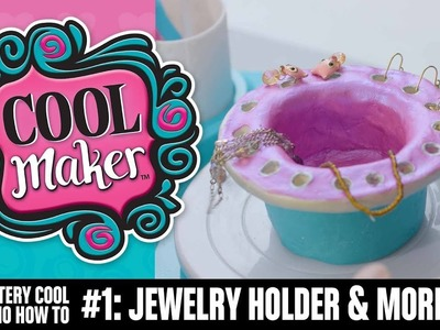 Pottery Studio - How To Make A Jewelry Holder