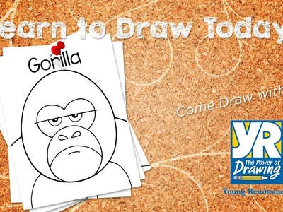 Teaching Kids How to Draw: How to Draw a Gorilla