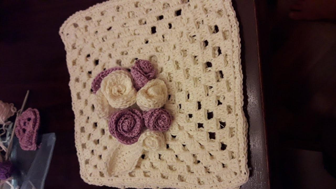 Come fare le rose in cotone a uncinetto i tutorial di camilla