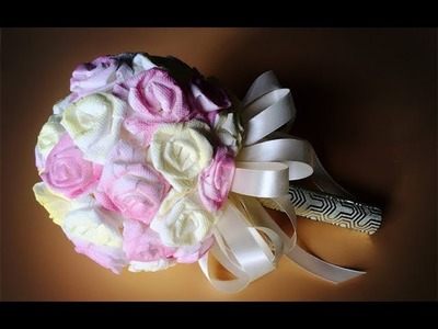 ABC TV | How To Make Rose Paper And A Bridal Bouquet From Toilet Paper - Craft Tutorial