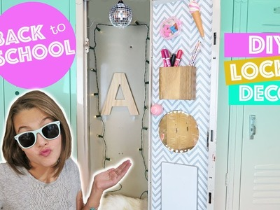 Back To School DIY Locker Decor and Organization   How To DIY Ideas & Hacks Kids Cooking and Crafts