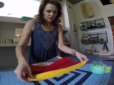 Beach Bag Collaboration: How to Sew a Zippered Wet Bag Interior Pocket