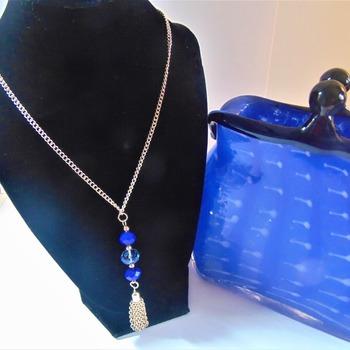 Blue Tassel