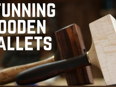 Building Beautiful Wooden Mallets!!! How To. Woodworking. DIY
