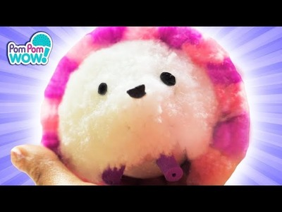 CUTE Pom Pom Wow Hedgehog Game! | How To Wow Show | Pom Pom Wow! Official