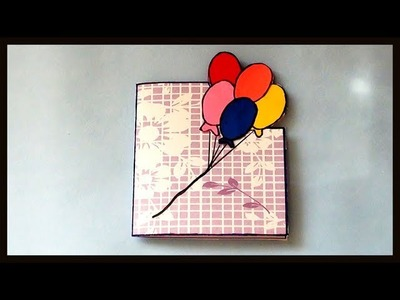 DIY Cute & Easy Birthday Greeting Cards for Kids | How to make Paper Crafts for beginners