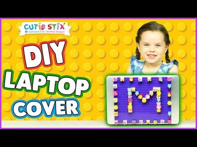 DIY Laptop Cutie Brick Cover! | How To Wow Show | Official Cutie Stix!