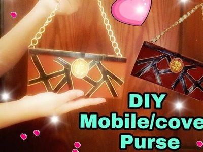 DIY Mobile Cover.Purse : How to make at home: