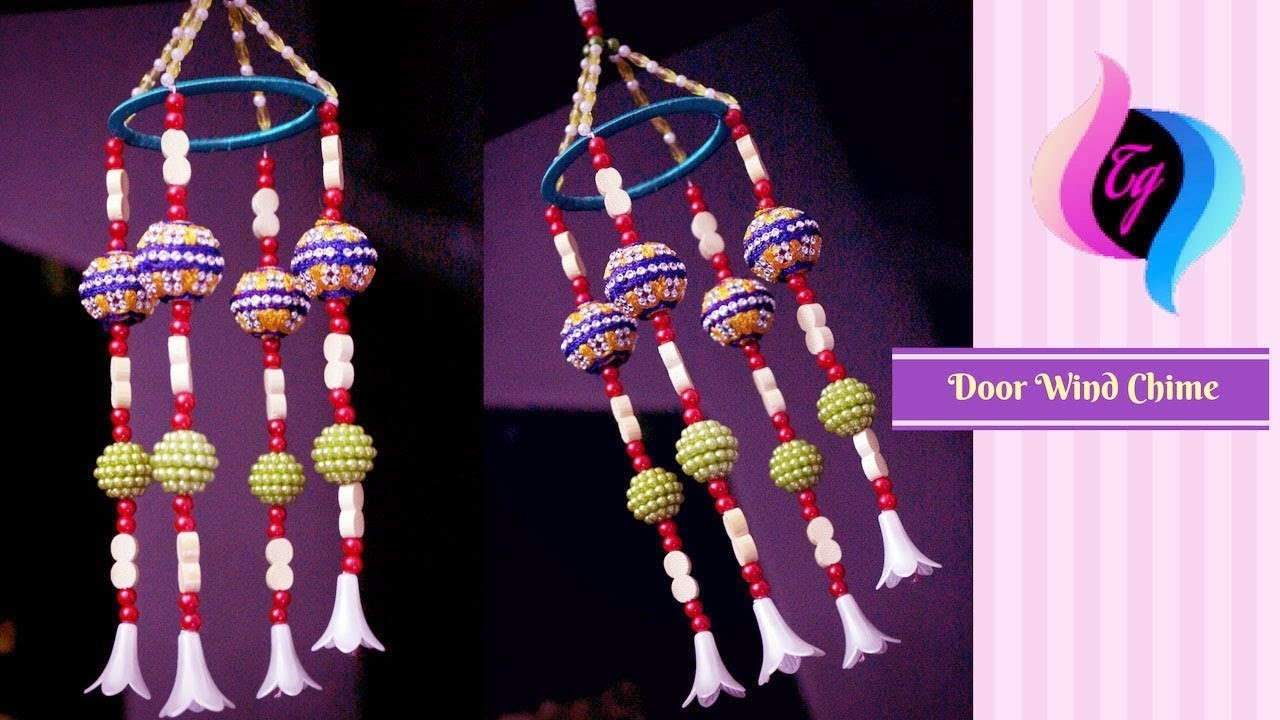door wind chime how to make beaded wind chimes
