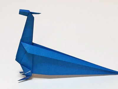 Easy Origami Dragon Tutorial How to Make a Paper Dragon for Kids with One Piece of Paper