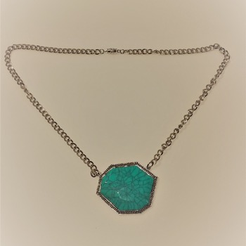Free Form Turquoise Focal