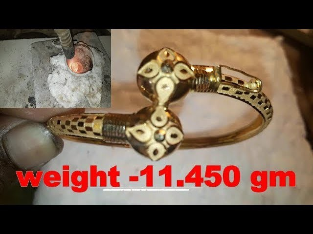 Gold Bracelet design (hallmark) || How to make gold Bracelet design(handmade)