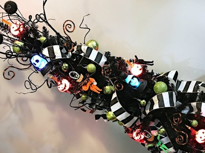 Halloween Tree Decorating - How To Decorate A Halloween Tree! - Halloween Decorating
