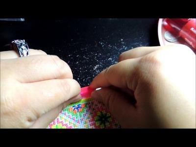 How I do the pink border on my pajntaub.hlab nyiaj.money belt