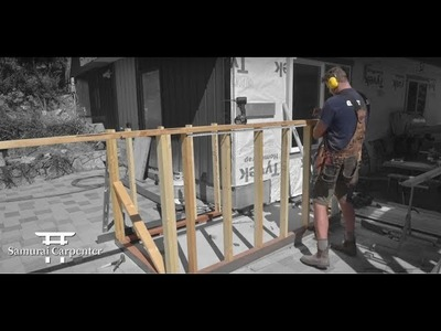 How To Build A Staircase Landing For A Deck