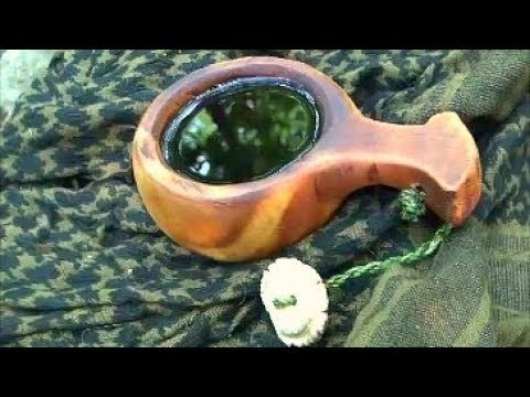 How to carve a traditional kuksa part 2