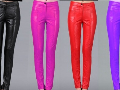 How to cut and stitch ladies trouser pant with side zip
