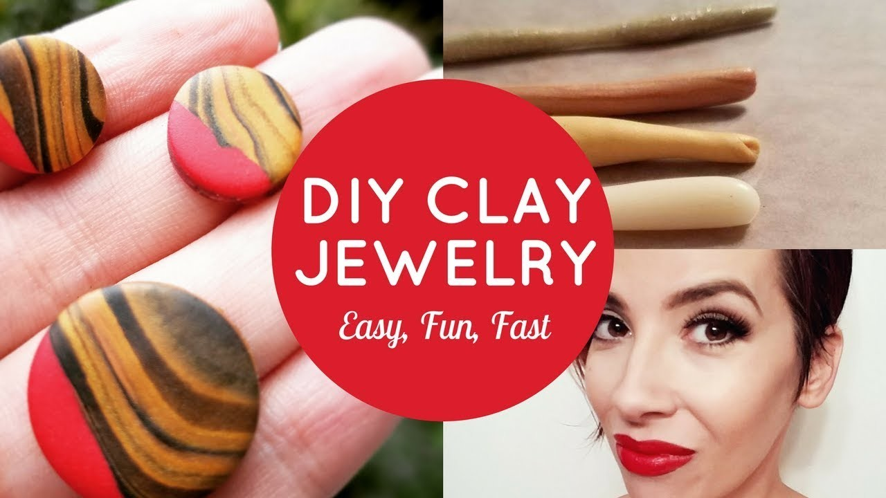 HOW TO: DIY Clay Jewelry | Easy + Fun + Fast