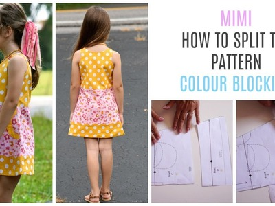 How to do Color Blocking for the Mimi Dress