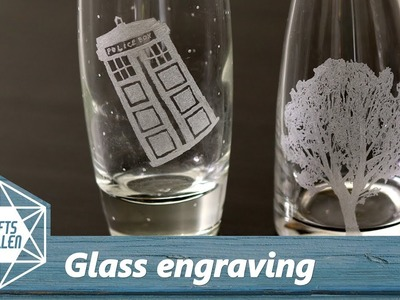 How To Engrave Glass With a Dremel | Beginners Tutorial