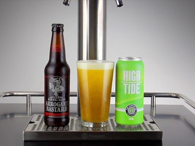 How to Get the Perfect Beer Pour from the Tap, a Bottle and a Can
