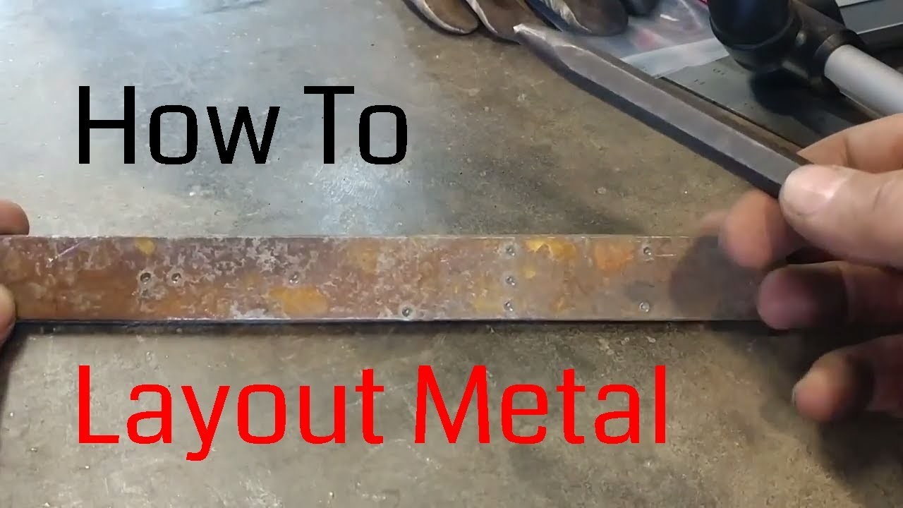 How to Layout Metal (Quick Blacksmith Tips and Tricks)