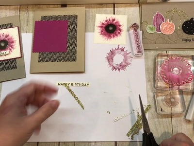 How to make 2 beautiful Fall Cards with Stampin Up's Painted Harvest and Pick a Pumpkin Sets