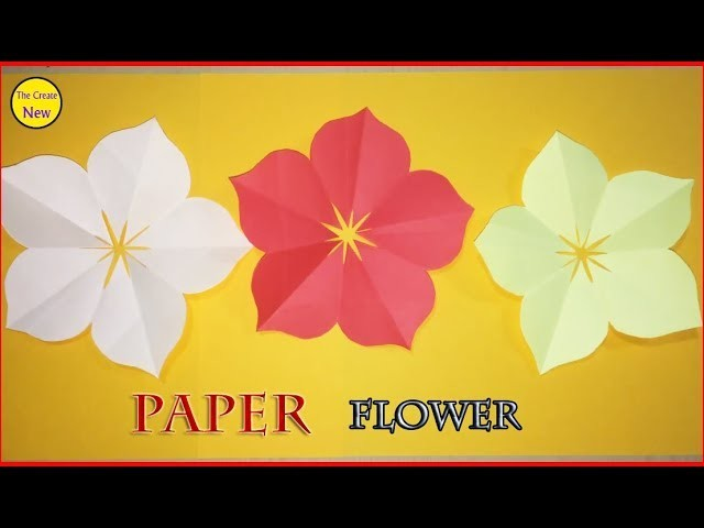 How to make 5 petal hand cut paper flowers origami flower diy 11 how to make 5 petal hand cut paper flowers origami flower diy 11 mightylinksfo
