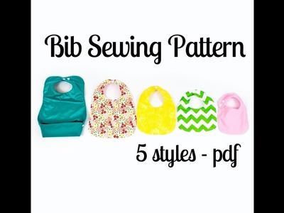How to make a bib - Class with my daughters