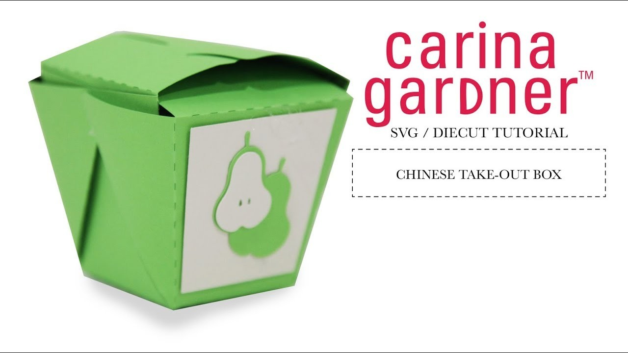 How to Make a Chinese Take -Out Box with Your Silhouette Cameo