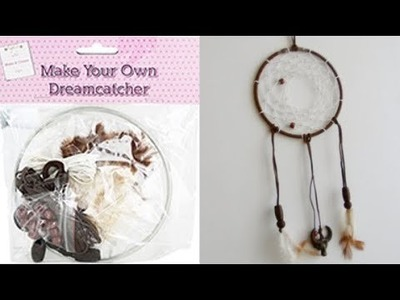How To Make A Dreamcatcher Kit - Budget Crafts Test & Review