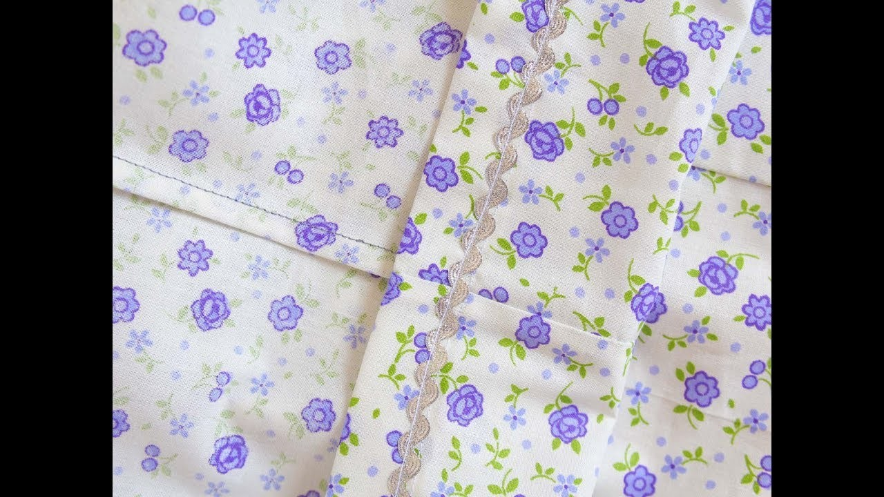 HOW TO MAKE A FRENCH SEAM SEWING TUTORIAL