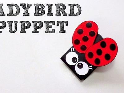 How to Make a Ladybird Hand Puppet