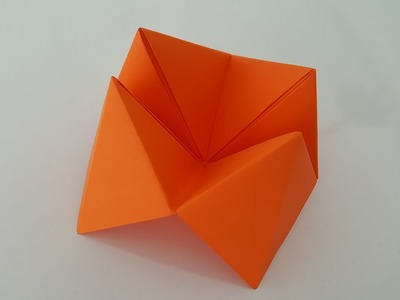 How to make a paper salt shaker (origami)?