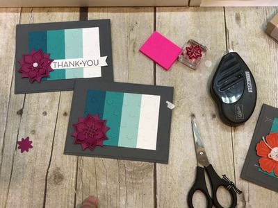 How to make a Simple Ombre Background Card