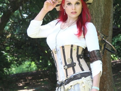 HOW TO Make A STEAMPUNK Corset, DIY