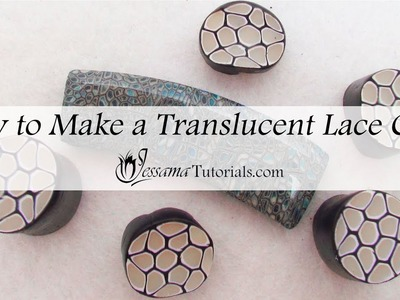 How to Make a Translucent Lace Cane